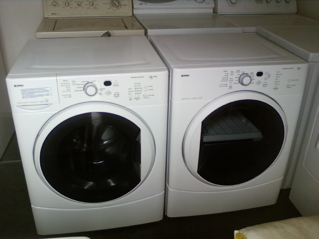 Kenmore washer and dryer front loaders ag appliances for Kenmore washer